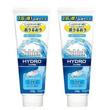 2 pcs Schick HYDRO Moisturizing Shaving Gel 240 g / 8.46 oz