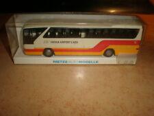 Rietze #61266 HO 1/87 MB bus Vienna Airport Lines     MIB (50/065)