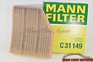 BMW 545i 550i 645i 650i 04-2007 MANN Air Filter C31149 Germany OEM Qty