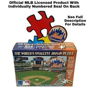 World's Smallest Jigsaw Puzzle MLB New York Mets Baseball Citifield TDC 234 Pcs.