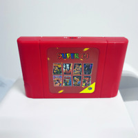New DIY Super 64 Retro Game Card 340 in 1 Game Cartridge for N64 Video Game Cons
