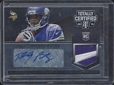 TEDDY BRIDGEWATER 2014 TOTALLY CERTIFIED BLACK RPA NIKE PATCH AUTO RC #D 1/1
