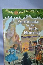 Magic Tree House Earthquake in the Early Morning Mary Pope Osborne Scholastic