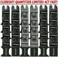 40 PC Oscillating MultiTool Saw Blades Fits FEIN MULTIMASTER BOSCH RIDGID RIDGID
