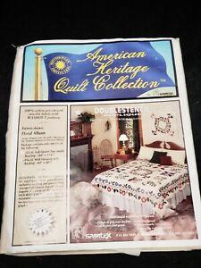 Vintage Spartex Applique Quilt Top Kit #316-SI Smithsonian Complete Kit