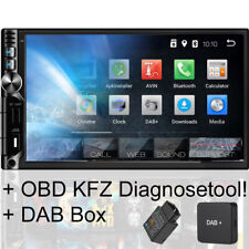 Tristan Auron Android 8.1 GPS Navi Autoradio mit Navigation DAB+ OBD2 Bluetooth