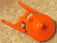 Vintage Diener STAR TREK - USS ENTERPRISE - Soft Rubber Figural Eraser - Unused