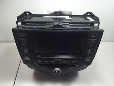 ✅ 04 05 Honda Accord Sdn Am Fm 6 Disc Cd Navigation Display Screen 120 Watt Oem
