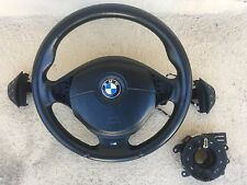 BMW E36 Z3 M3 E38 E39 Sport steering wheel MTech M technik dual stage airbag