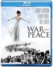 War and Peace (Blu-ray) Audrey Hepburn, Henry Fonda NEW