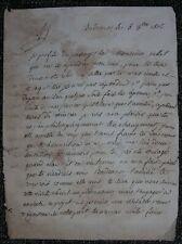 Lettre de Bordeaux 1806, par M. Fauche à M. Richard sur sa resurrection.