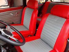 Liners Sièges Voiture sur Mesure Austin - Morris Mini 1988 Cuir Artificiel