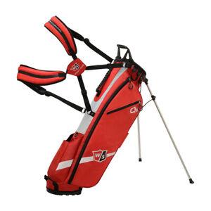 Wilson Staff Quiver Lightweight Golf Stand Bag Sunday Carry Bag 1.4KG