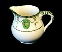 Beautiful Royal Doulton Countess Green Rim Creamer Circa 1920