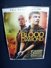 Blood Diamond USed DVD Full Screen Edition Leonardo DiCaprio