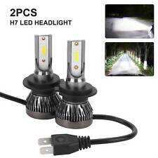 2X H7 LED Headlight 110W CSP Chip Bulb Kit Canbus Error Free 30000LM White 6000K