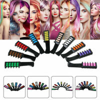 Double Side Hair Styling Dye Chalk Comb Temporary Mixing Tint Coloring