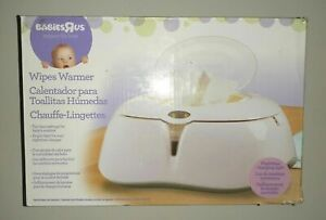 Babies R Us Dual-Heat Lighted Baby Wipes Wipe Warmer Dispenser Shower Gift