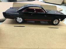 AMT 1/25 1966 DEALER PROMO CAR FORD FAIRLANE 500 HARDTOP RE-ISSUE BLACK -MIB