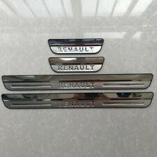 Car Door Sill Scuff Plate Guards Protectors Kick For Renault Kadjar 2019 2020