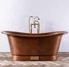 Witt & Berg Copper Bateau Bathtub - Antique Copper