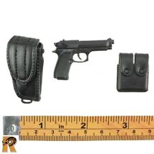 Detective Chow - Beretta Pistol w/ Holster - 1/6 Scale - Dragon Action Figures