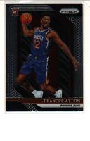 DeAndre Ayton 2018-19 Panini PRIZM ROOKIE CARD RC #279 Phoenix Suns