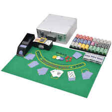 vidaXL Pokerkoffer 600 Chips Aluminium Koffer Pokerset Poker Set Pokerchips