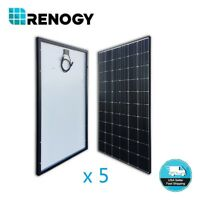 5pcs Renogy 300W Mono Solar Panel 1500W Watt 24V 48V Off Grid Power Home Garden
