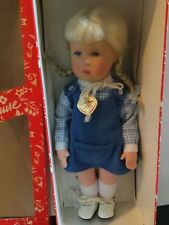 """Doll 14"""" Kathe Kruse  in box made in Germany"""