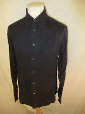 Chemise Versace Noir Taille 40 à - 74%