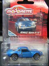 Majorette 1:64 Metal DieCast model - RENAULT Alpine A110