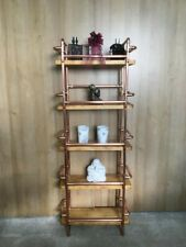 5 Tier Copper and wood industrial style shelving