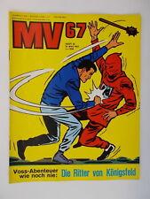 MV 67 - Comix Mickyvision - Heft 10. 1967. Ehapa, Comic / Z. 1-2