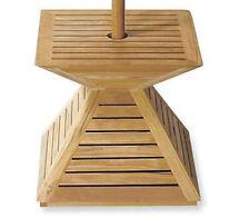 Grade-A Teak Wood Umbrella Cover Umbrella Base Grade-A Teak Outdoor Garden Patio