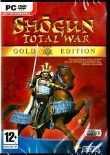 Shogun Total War gold edition UK PC