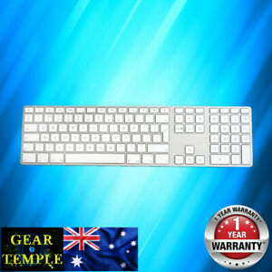 OEM Apple Corded Keyboard A1243 Numeric Keypad UK Edition + cover