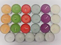 IKEA Sinnlig Scented Fragrance Tea Light Coloured Candles Inc Selection Assorted
