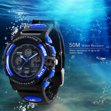 Boy Children Kids Watches LED Digital Waterproof Sports Wrist Watch for Youth