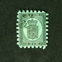 Finland Stamps # 7b VF Used Catalog Value $275.00