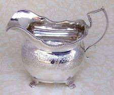 Irish Creamer Dublin 1819 Sterling Silver