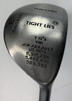 Adams Tight Lies Strong 3 Wood 13° SuperShaft Graphite Stiff RH   0452