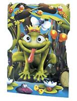Frog Prince - Greeting Card 3D Interactive Swing Card / Santoro Graphics