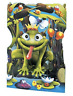 Frog Prince - Greeting Card 3D Interactive Swing Card / Santoro Graphics