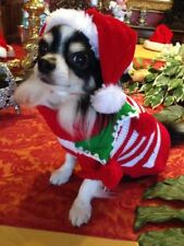 CHRISTMAS PET JUMPER COSTUME SIZE XSMALL
