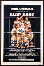 SLAP SHOT SLAPSHOT PAUL NEWMAN ICE HOCKEY CLASSIC 1977 1-SHEET