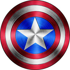 "Captain America Shield Vinyl Sticker Decal 18"" (full color)"