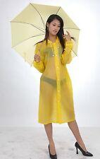 Lackina-- PVC Regen Mantel,5 Farbe