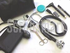 Nurse Student starter Kit #6- Purple Stethoscope BP Cuff +more: 9 Piece Set