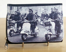 Ladies Scooter Purse Wallet, 60s Mod Scooter Purse, My Generation Northern Purse